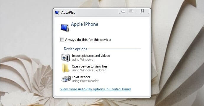 how to download photos from pc to iphone