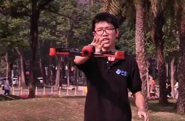 Taiwanese have developed drone control technology using ...
